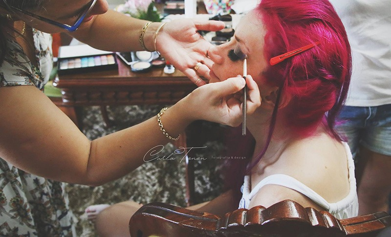 maquiagem de noiva casamento de viagem