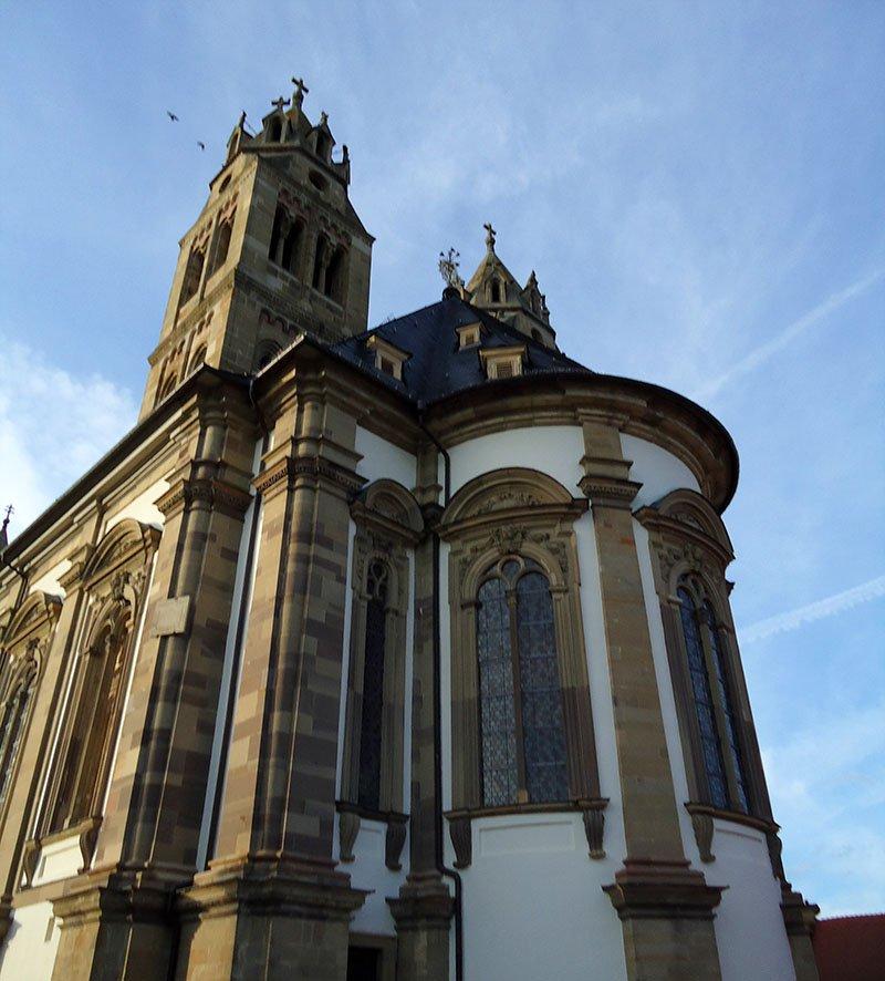 mosteiro em schwabisch hall