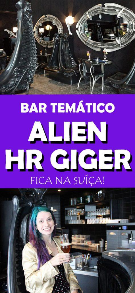 Conheça o bar temático Alien Hr Giger na Suíça!