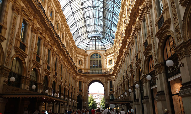 Galleria Vittorio Emanuele II compras