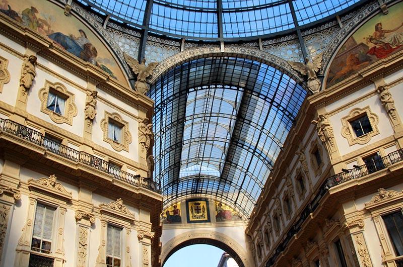 Galleria Vittorio Emanuele II detalhes
