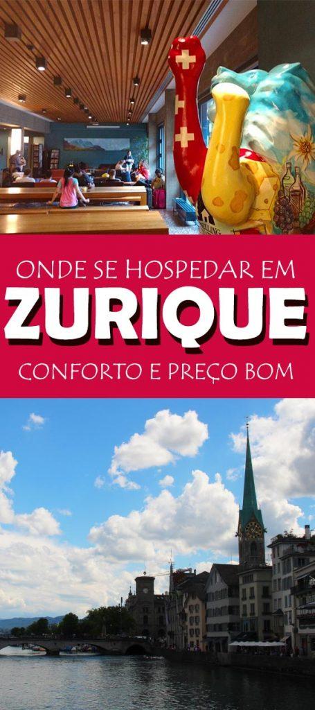 Onde se hospedar em Zurique, sugestão barata e super confortavel!