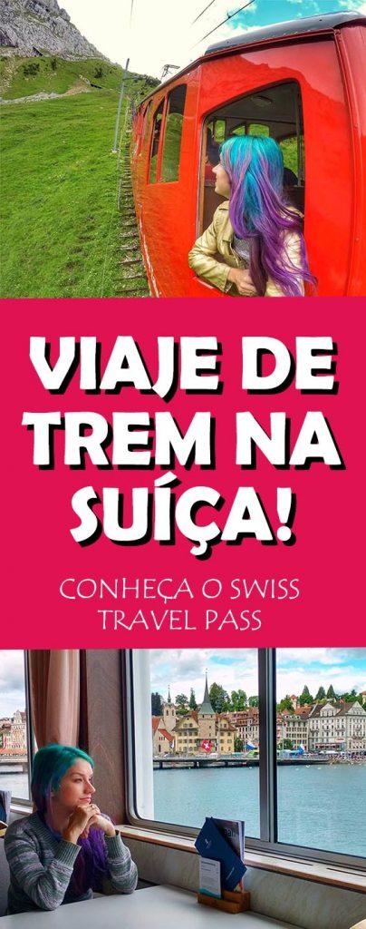 Viaje de trem na Suiça, conheça o Swiss Travel Pass, ticket que reune trem, atrações e transporte publico no pais!