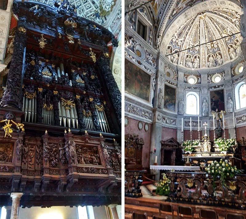 basilica madonna di tirano interior