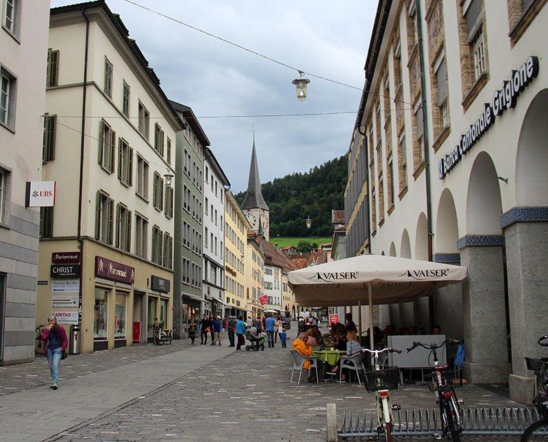 centro novo de coira suica bernina express
