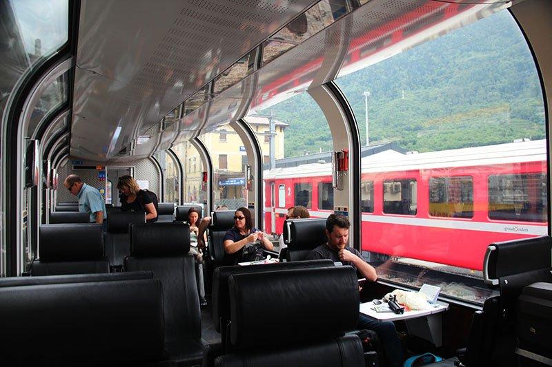 como e trem bernina express panoramico suica