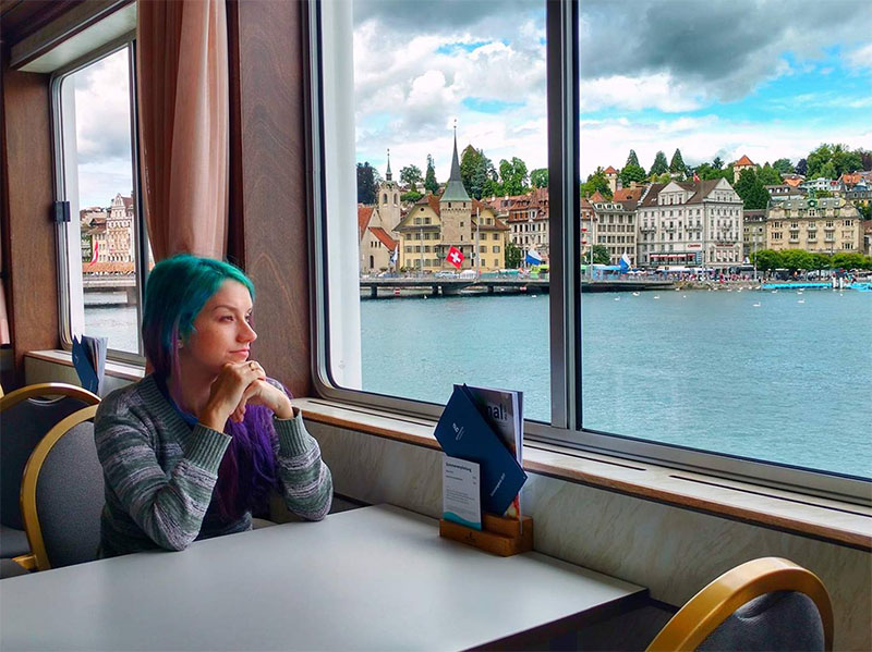 cruzeiro lago lucerne suica swiss travel pass
