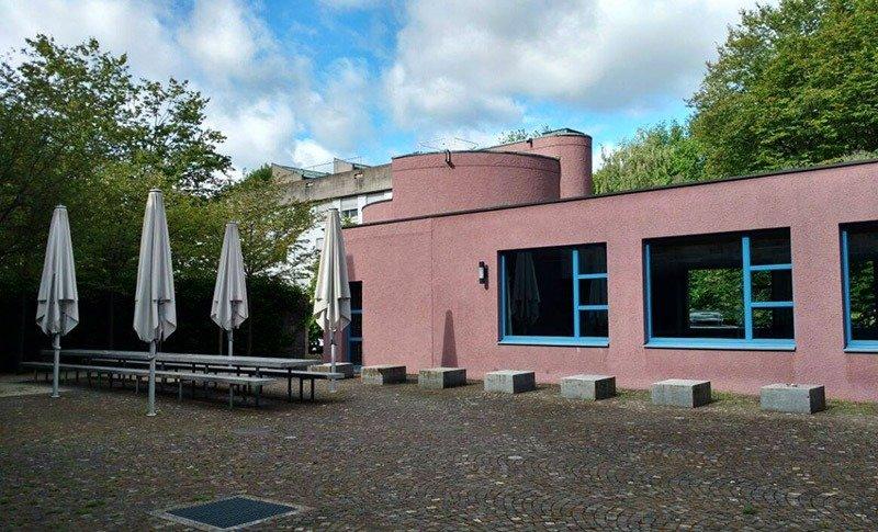 exterior hostel em zurique youth