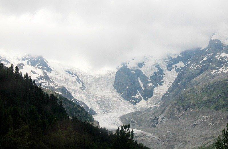 glaciar bernina express detalhe
