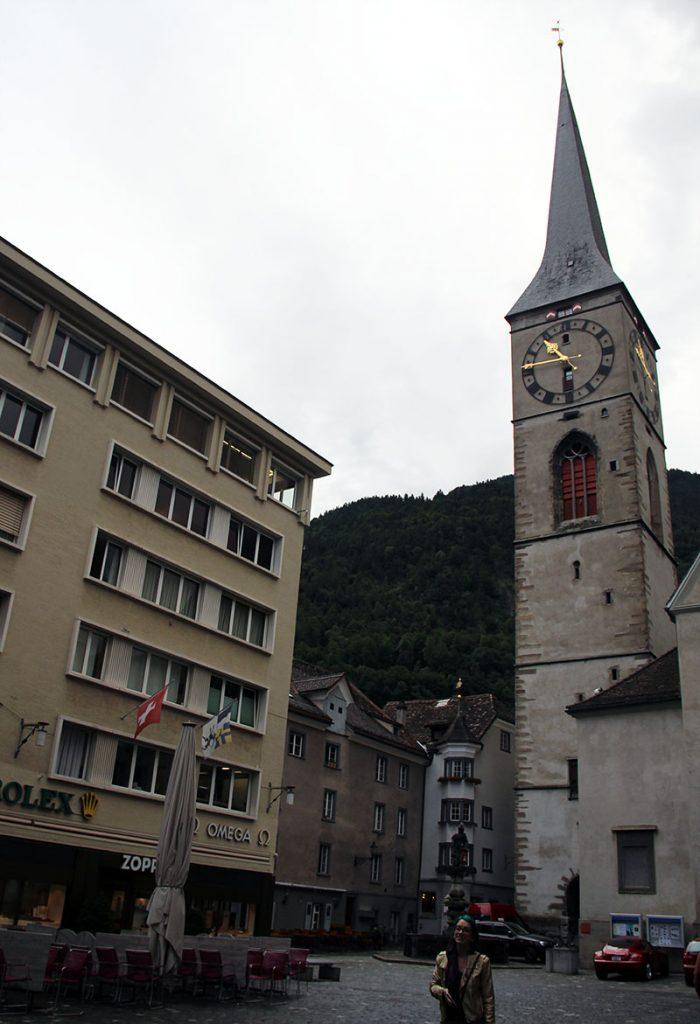 igreja antiga em chur centro