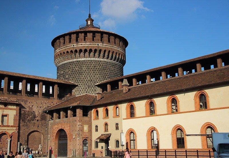 o que ver em milao Castello Sforzesco