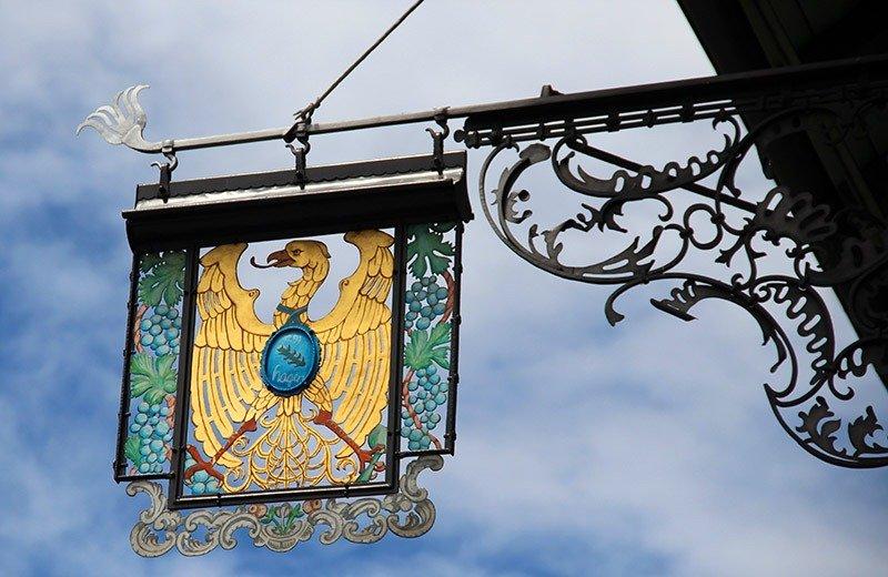 placa aguia de ferro liechtenstein