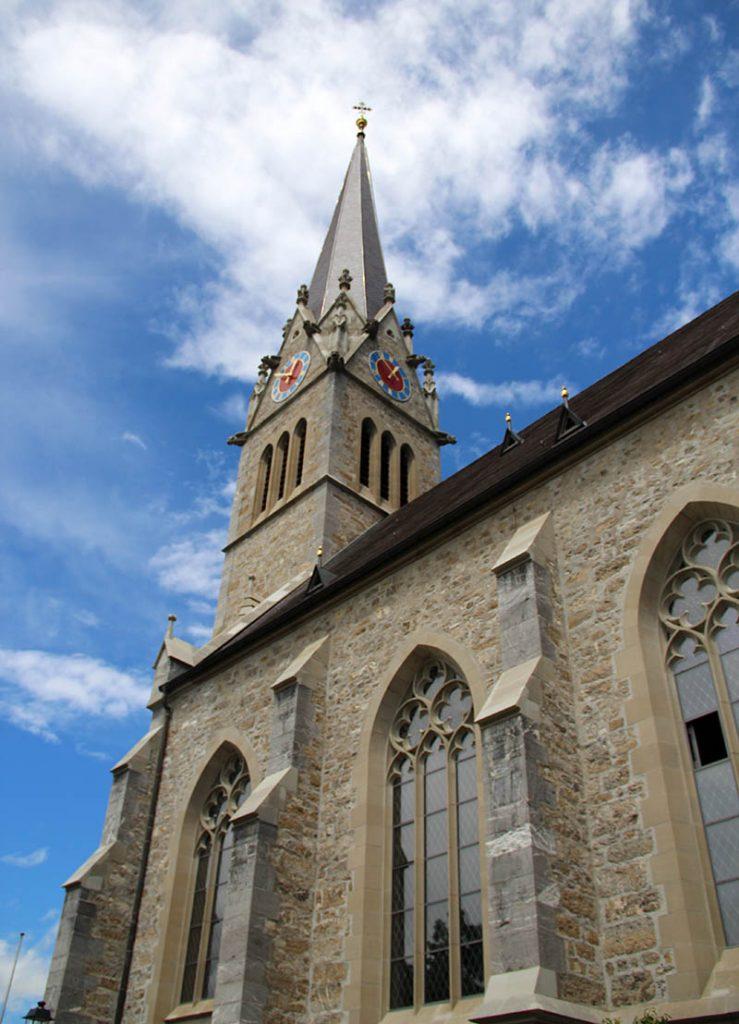 torre catedral liechtenstein vaduz