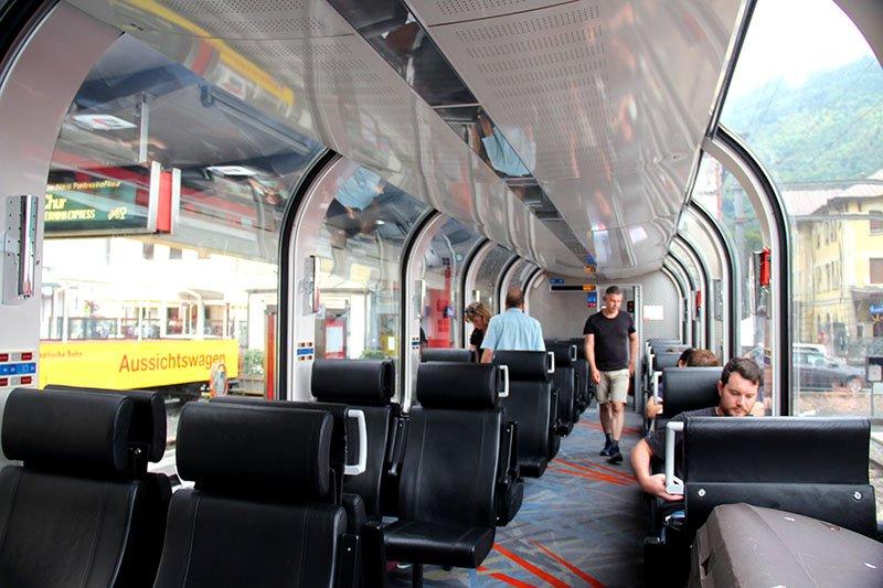 trem panoramico bernina express