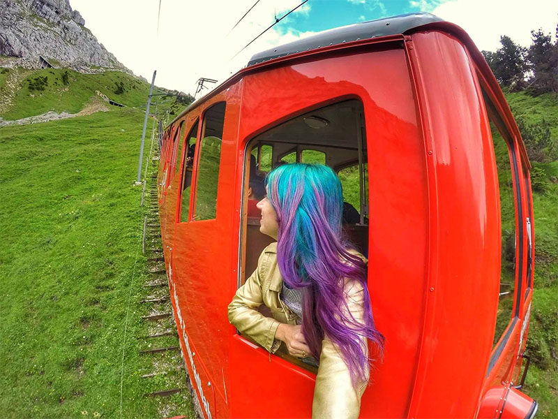 trem pilatus em lucerne swiss travel pass