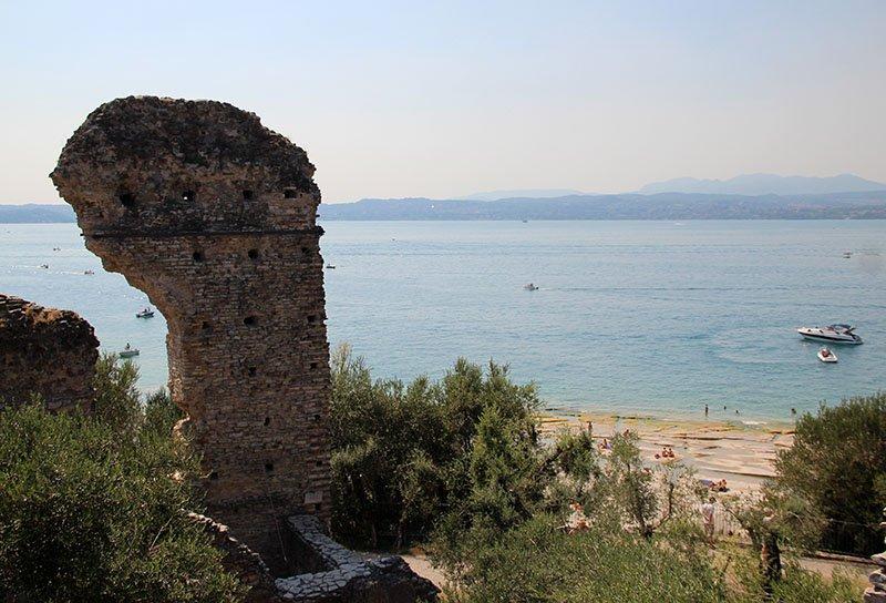 Grotte di Catullo ruinas romanas
