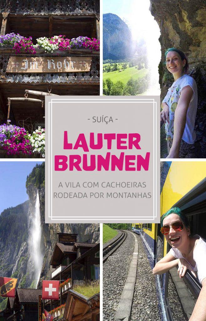 Lauterbrunnen, a vila das cachoeiras na Suiça