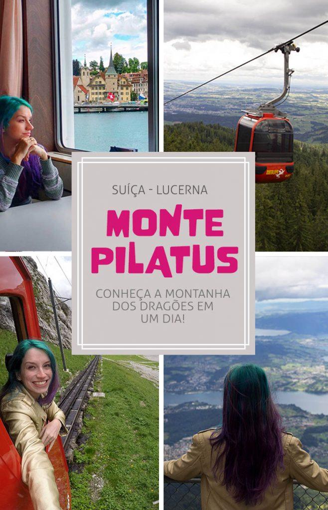 Monte Pilatus, passeio em Lucerna, trem, barco e teleferico na Suiça