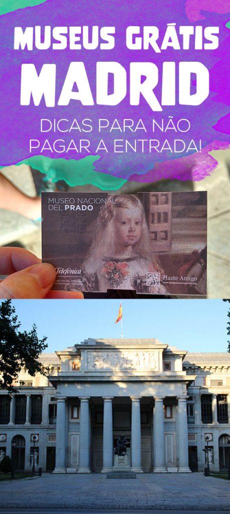 Museus grátis em Madrid, entrada de graça no Museo del Prado, Reina Sofía e Thyssen-Bornemisza