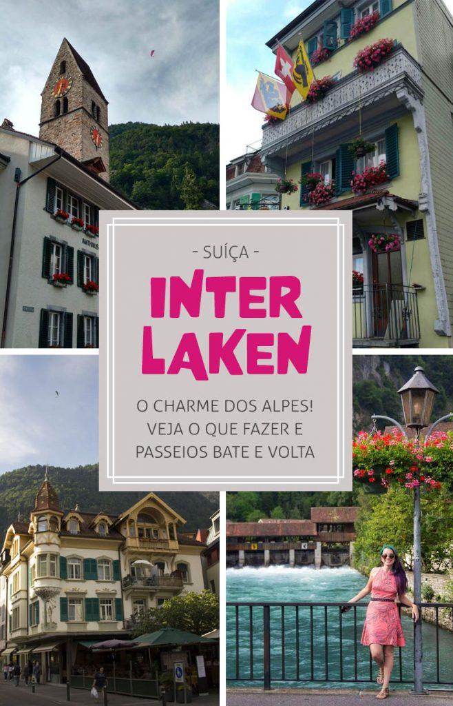 Passeios em Interlaken na Suiça, o que fazer e dicas
