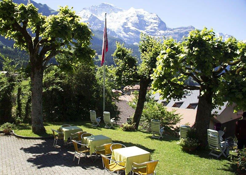 area de lazer jungfraublick hotel wengen