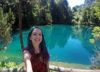 atracoes na suiça blausee lago azul