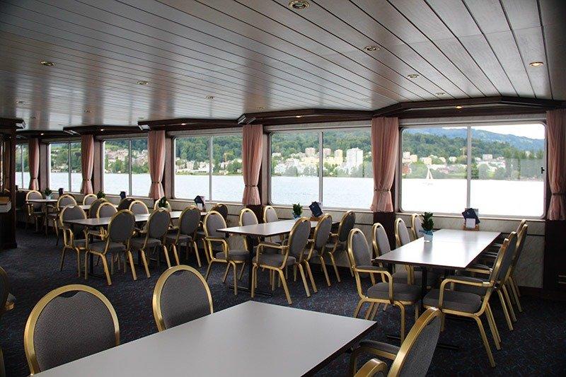 barco primeira classe lucerne pilatus