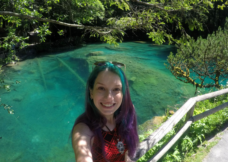 como chegar no blausee lago azul da suiça