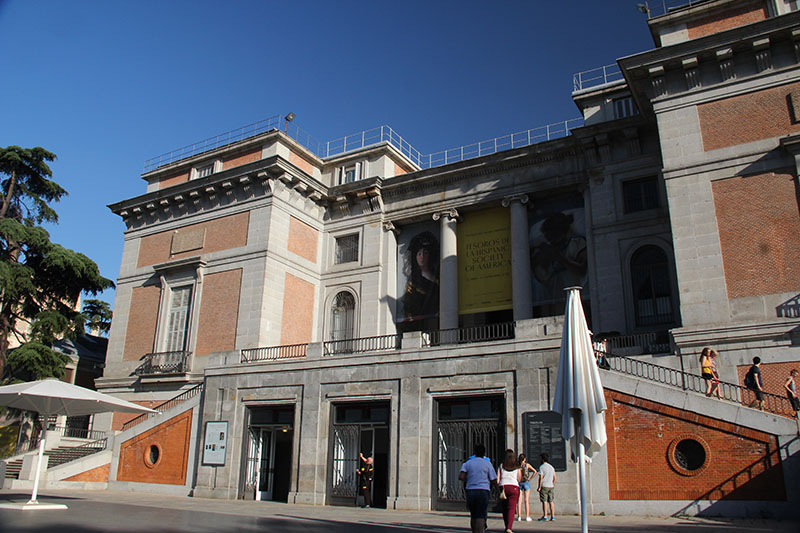 como visitar o museu do prado em madrid de graca