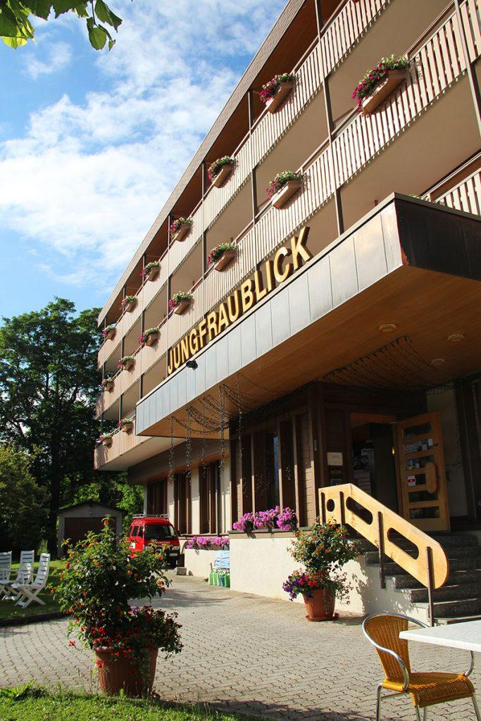 fachada hotel jungfraublick wengen