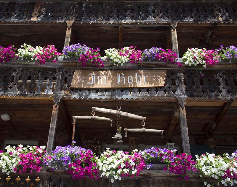 flores na varada casa suiça
