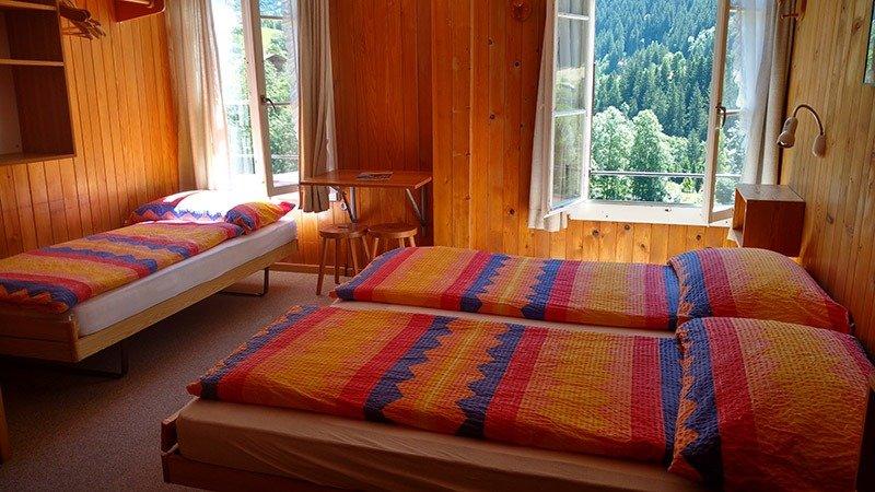 hotel nos alpes grindelwald suica