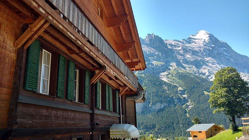 hotel em grindelwald regiao jungfrau na suica