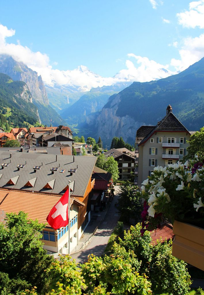 hotel em wengen vista jungfrau suiça