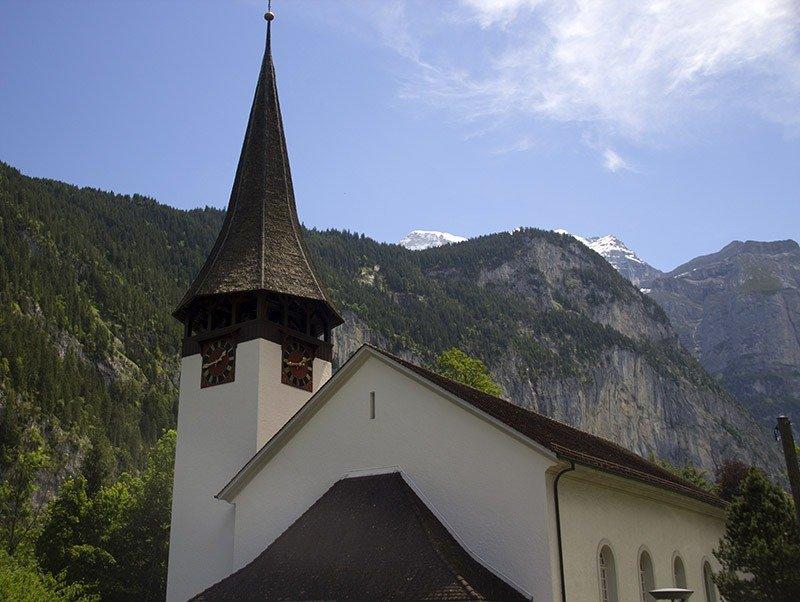 igreja de lauterbrunnen