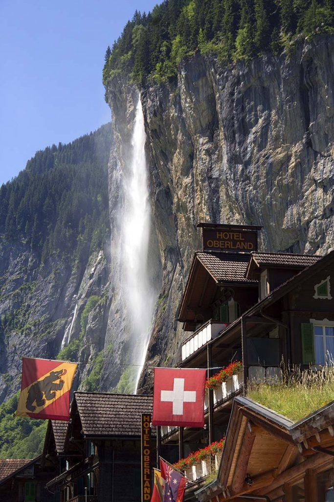 inspiração tolkien cidade suiça lauterbrunnen