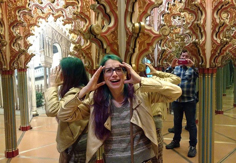 labirinto dos espelhos museu lucerna