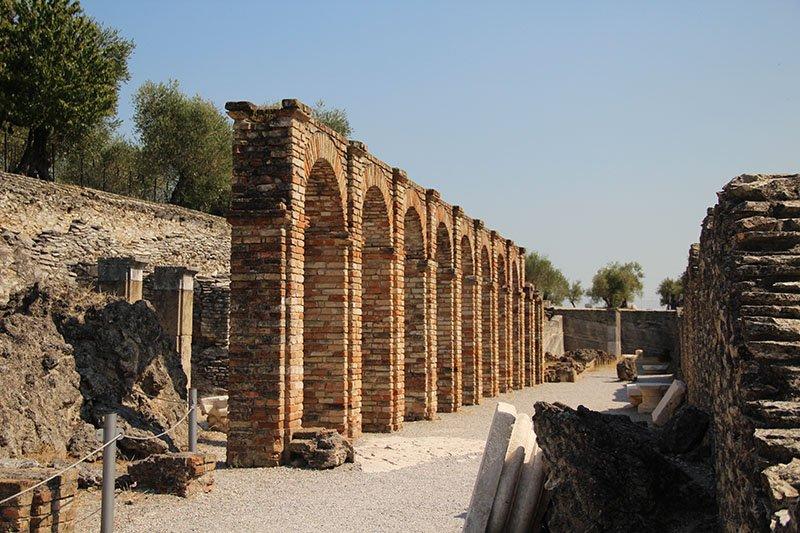 maior ruina romana norte da italia sirmione