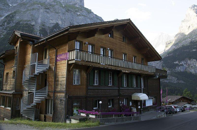 onde se hospedar em grindelwald suica