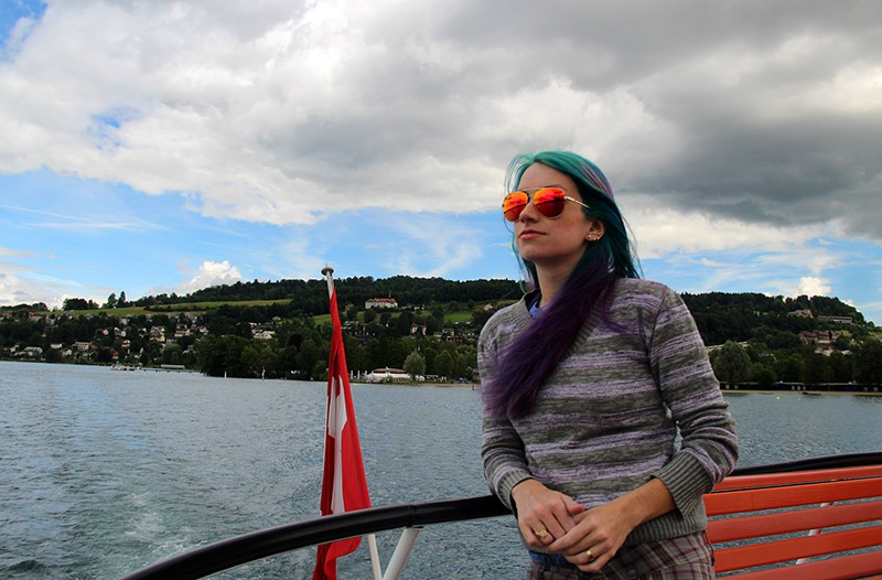 passeio de barco em lucerna na suiça