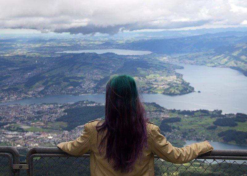 pilatus a montanha dos dragoes em lucerna na suica