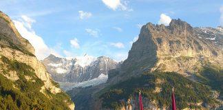 restaurante vista para os alpes grindelwald