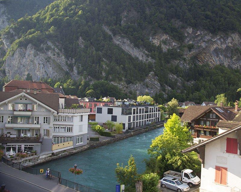 rio aare azul turismo em interlaken