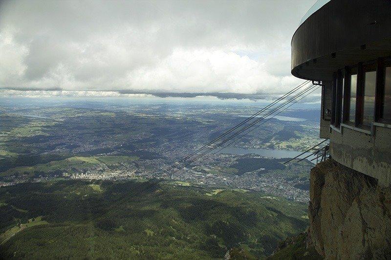 vista da montanha pilatus vale a pena