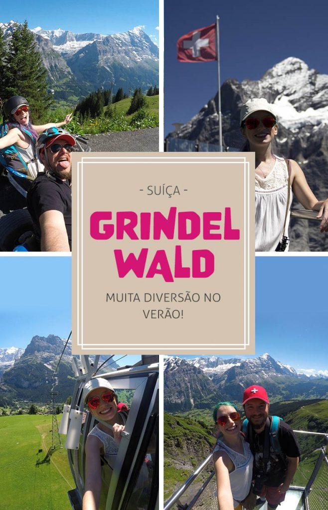 Grindelwald First, montanha na Suíça com tirolesa, motoca, teleferico
