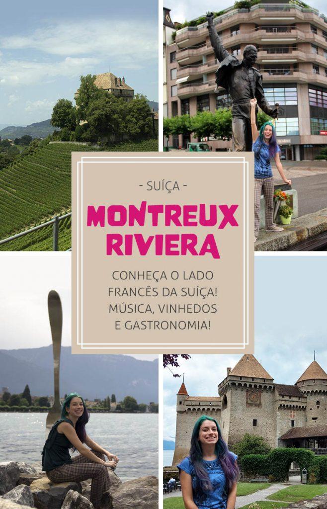 Montreux riviera, conheça o lado francês da Suíça!