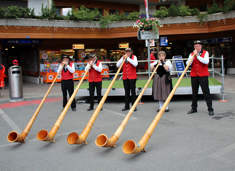 alphorn zermatt instrumento suiço