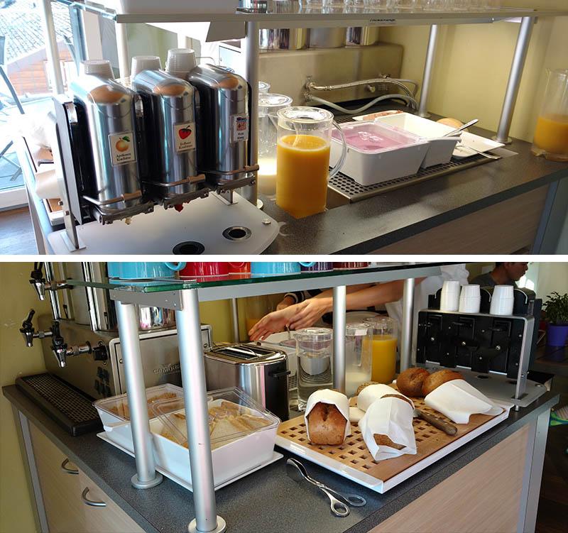 cafe da manha hostel alplodge interlaken