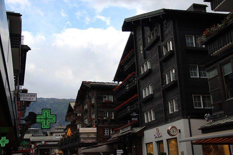 casas suiças zermatt arquitetura