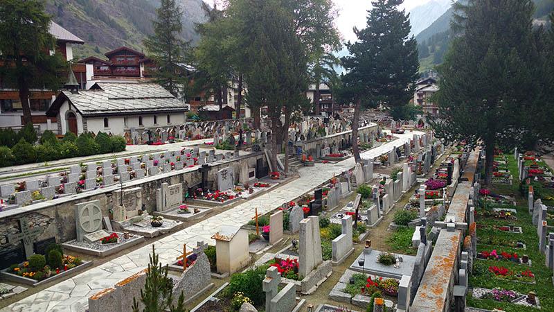 cemiterio de alpinistas zermatt